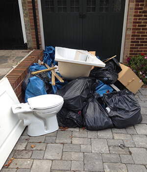 Building waste collection